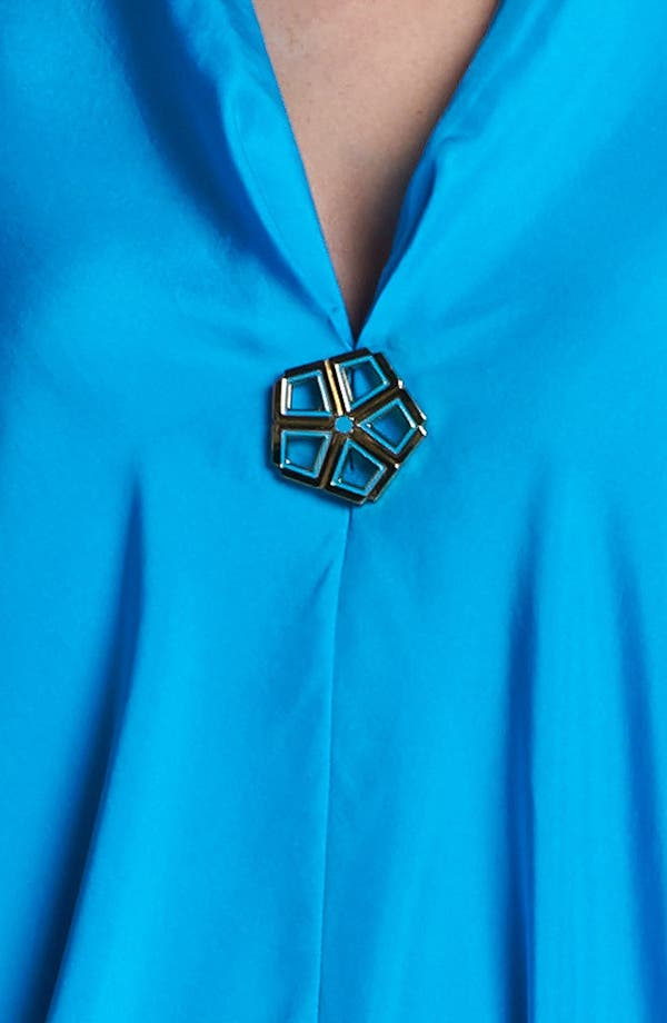 Alternate Image 3  - Trina Turk 'Getaway' Silk Caftan Dress