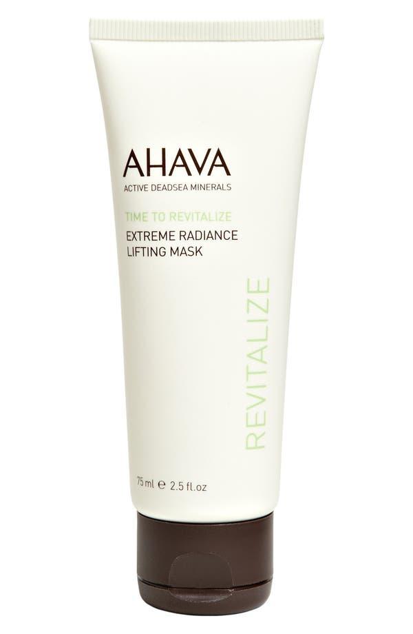 Alternate Image 1 Selected - AHAVA 'Extreme Radiance' Lifting Mask