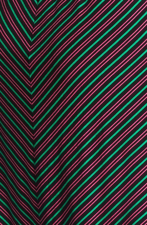 Alternate Image 3  - Calvin Klein Stripe Knit Fit & Flare Dress