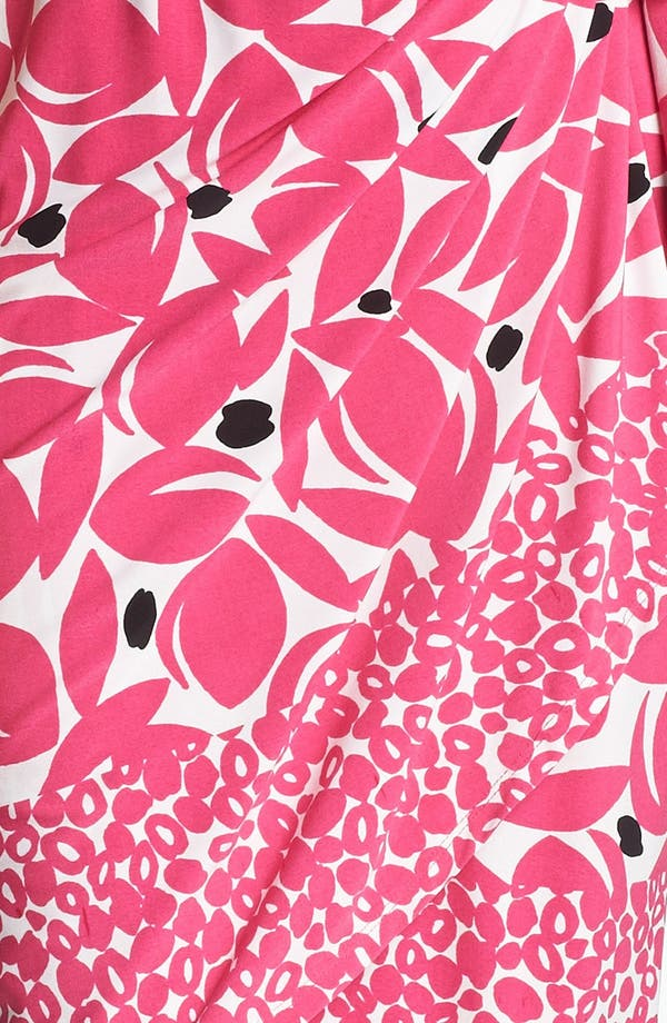 Alternate Image 3  - Maggy London Print Cap Sleeve Jersey Wrap Dress