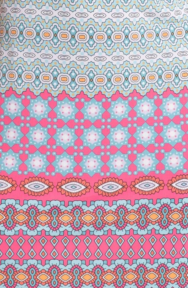 Alternate Image 3  - Donna Morgan Print Shift Dress (Petite)