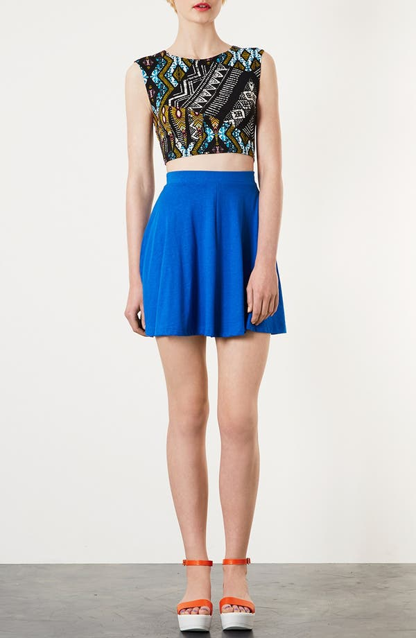 Alternate Image 4  - Topshop Aztec Crop Tee