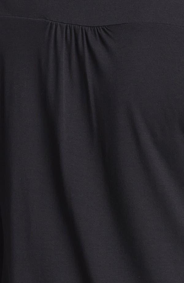 Alternate Image 3  - Maternal America Button Sleeve Maternity Top