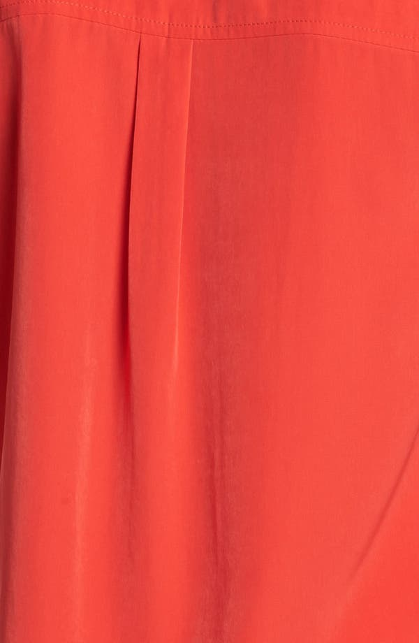Alternate Image 3  - Olivia Moon Sleeveless Tie Front Blouse (Petite)