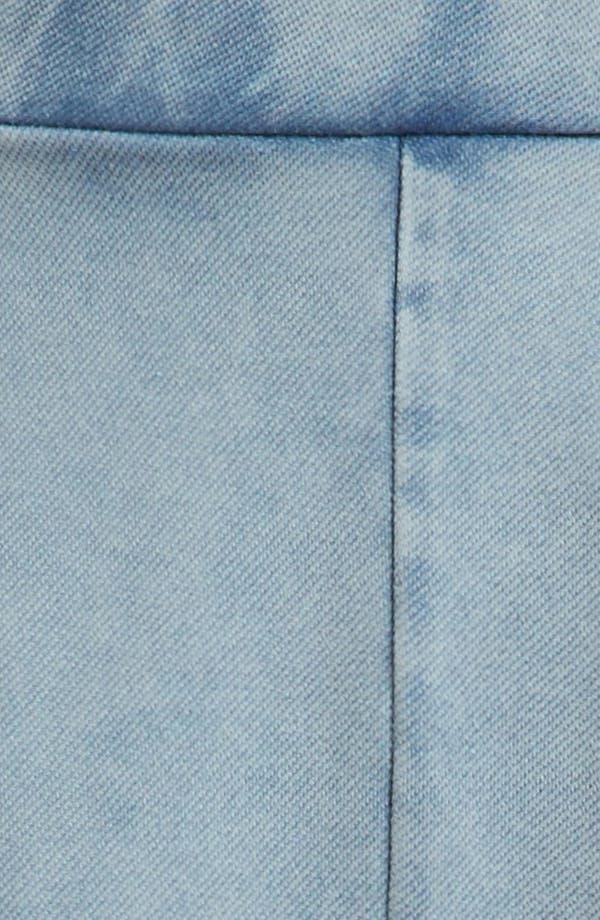 Alternate Image 3  - Topshop 'Andie' Acid Wash Jersey Skater Skirt