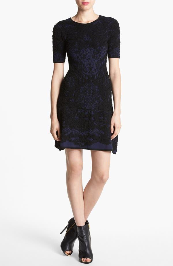 Alternate Image 1 Selected - Leith 'Flounce' Drop Waist Dress