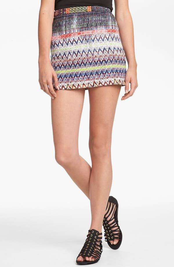Alternate Image 1 Selected - Topshop Ikat Pattern Skirt