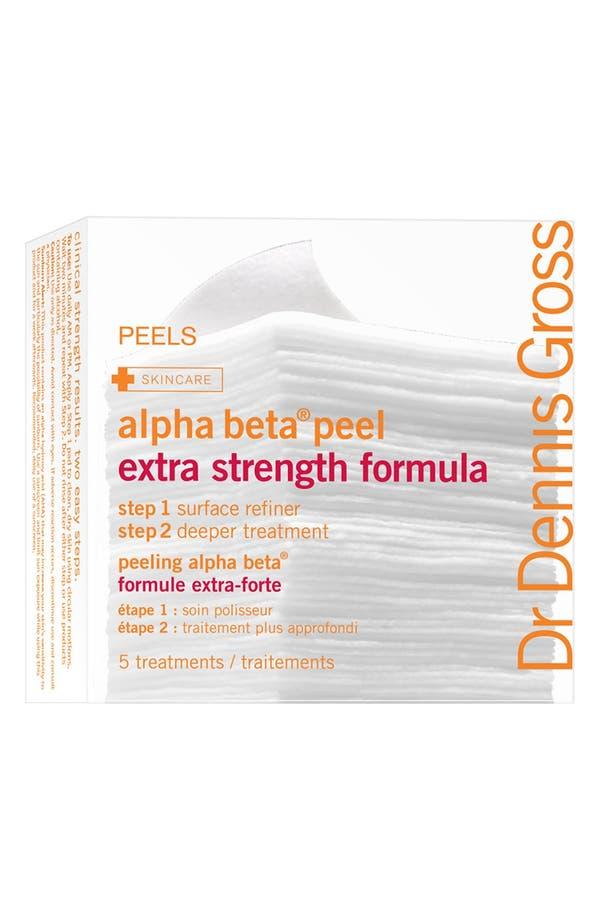 Alternate Image 1 Selected - Dr. Dennis Gross Skincare Alpha Beta® Peel Extra Strength Formula - 5 Applications