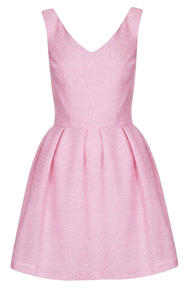 Alternate Image 3  - Topshop Fluffy Fit & Flare Dress