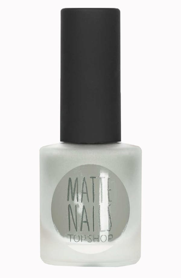 Main Image - Topshop Matte Nail Polish (2 for $14)