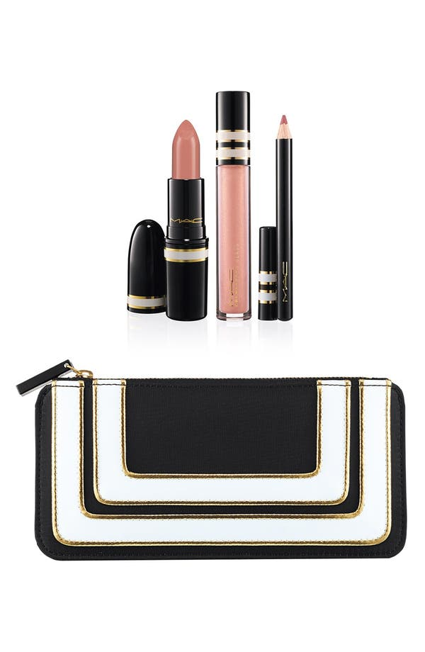 Main Image - M·A·C 'Stroke of Midnight - Nude' Lip Kit (Limited Edition) ($42.50 Value)