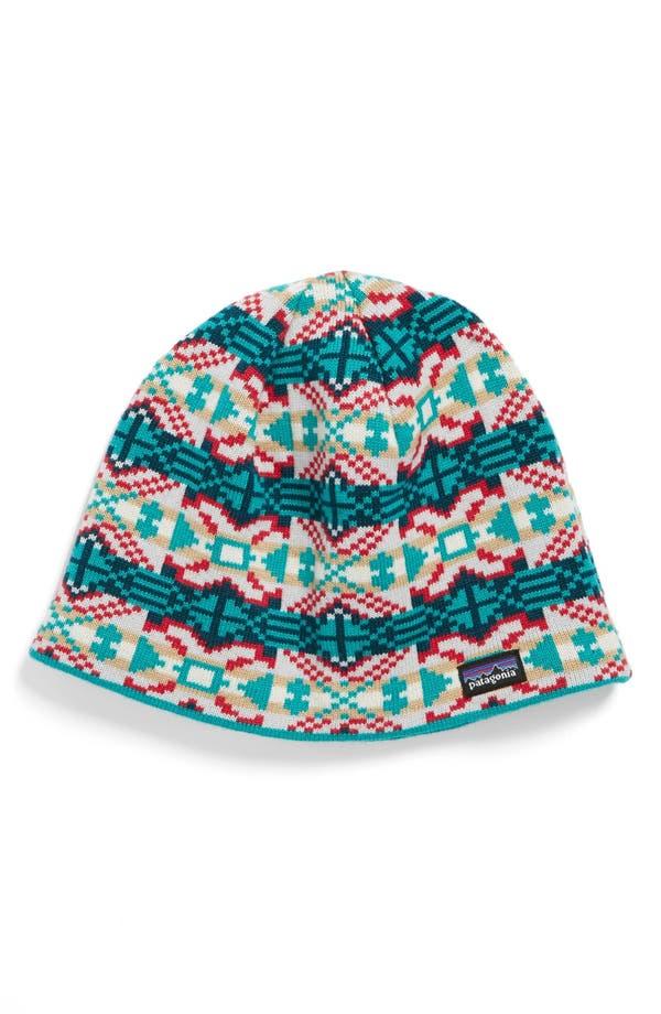 Main Image - Patagonia Knit Beanie (Girls)