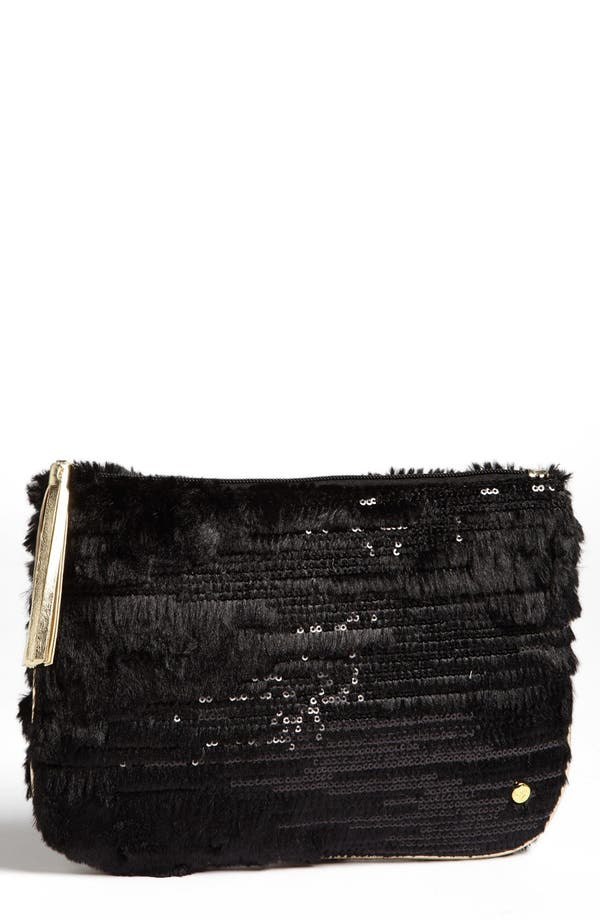 Alternate Image 1 Selected - Stephanie Johnson 'Geneva Black' Large Flat Cosmetics Pouch