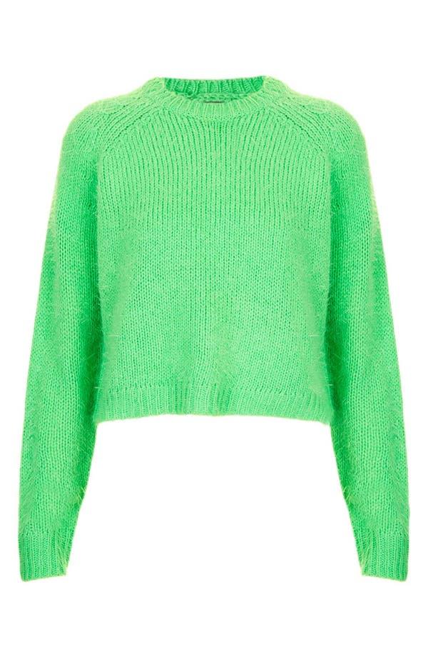 Alternate Image 3  - Topshop 'Monster' Fluffy Crop Sweater