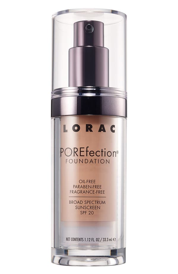 Alternate Image 1 Selected - LORAC 'POREfection®' Foundation