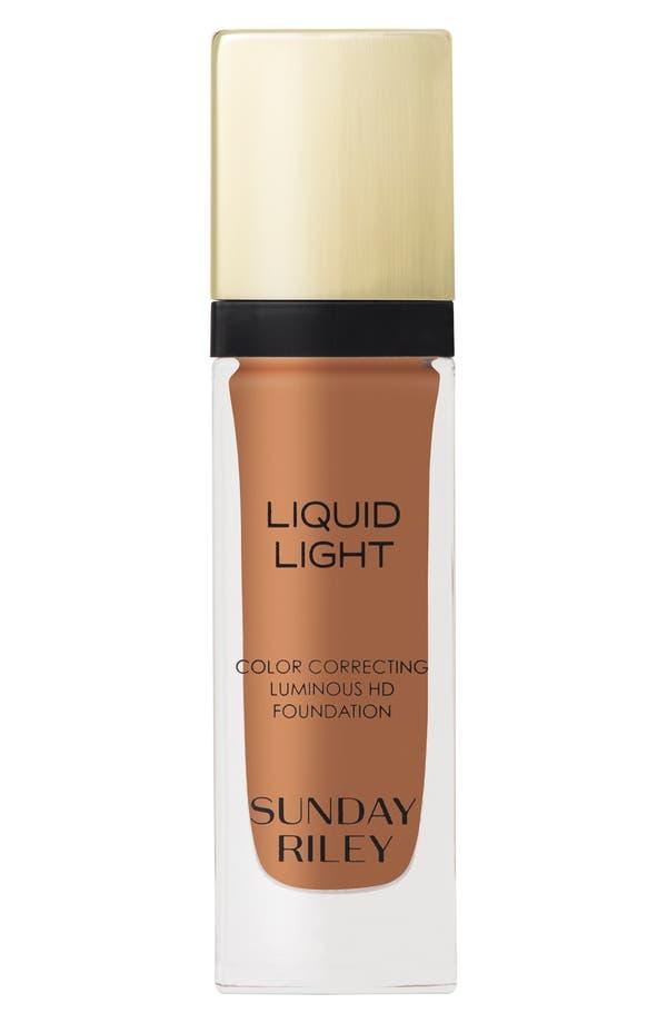 Main Image - Sunday Riley 'Liquid Light' Breathable Perfecting Foundation