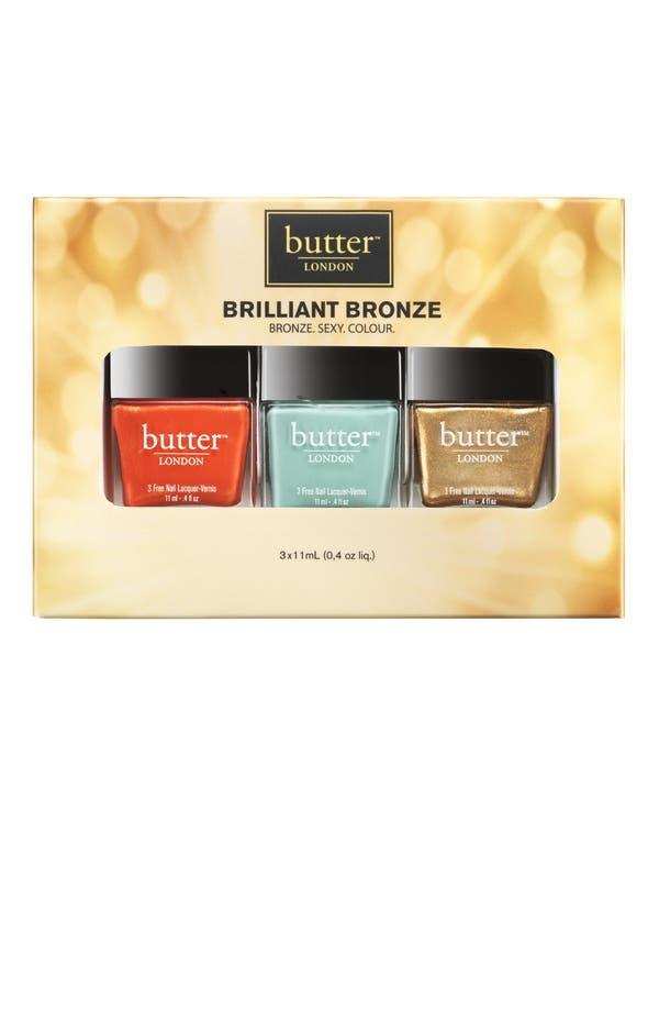 Alternate Image 2  - butter LONDON 'Brilliant Bronze' Nail Lacquer Set