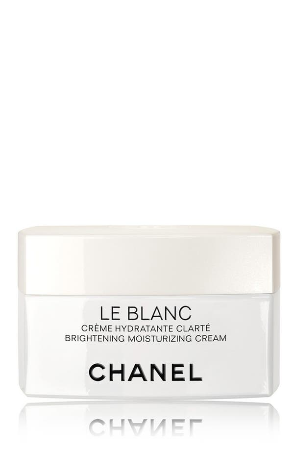 Alternate Image 1 Selected - CHANEL LE BLANC Brightening Moisturizing Cream