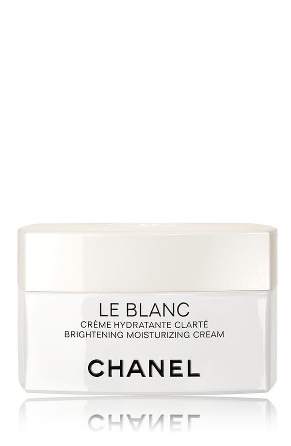 Main Image - CHANEL LE BLANC Brightening Moisturizing Cream