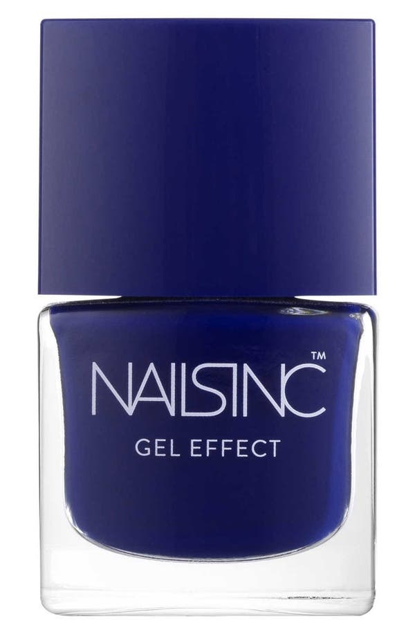 Alternate Image 1 Selected - nails inc. London 'Gel Effect' Nail Polish with Plumping Effect