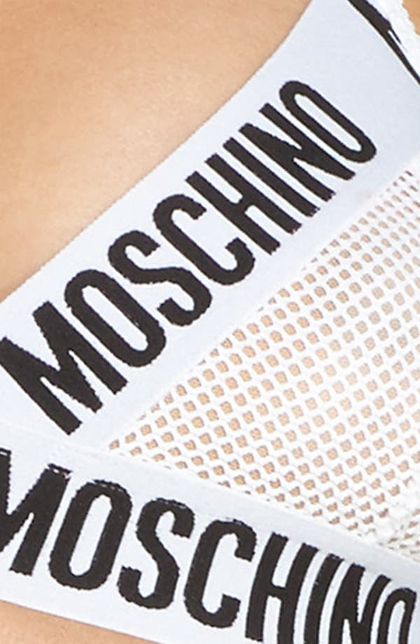 Alternate Image 7  - Moschino Mesh Triangle Bralette