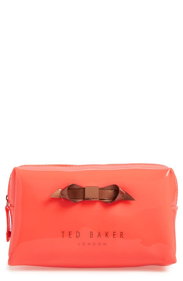 Alternate Image 1 Selected - Ted Baker London 'Nellyy' Small Cosmetics Bag