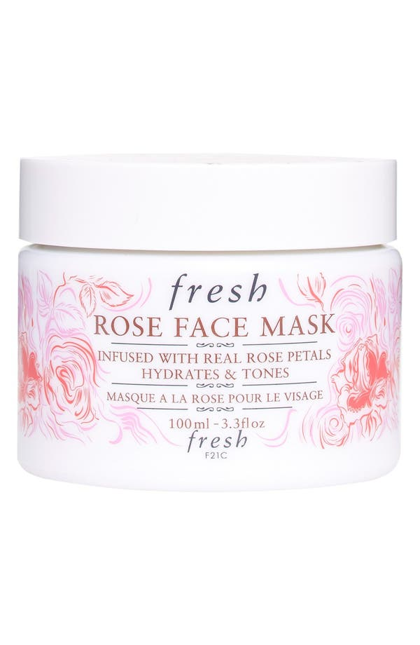 Alternate Image 1 Selected - Fresh® 'Rose' Face Mask (Limited Edition)