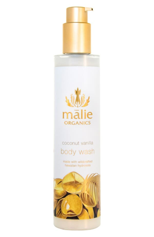 Main Image - Malie Organics Coconut Vanilla Organic Body Wash
