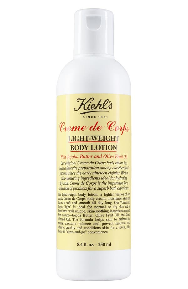 Main Image - Kiehl's Since 1851 'Creme de Corps' Light-Weight Body Lotion