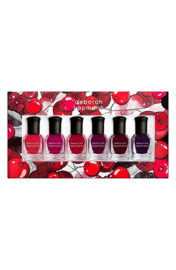 Main Image - Deborah Lippmann 'Very Berry' Nail Polish Set (Limited Edition) ($72 Value)
