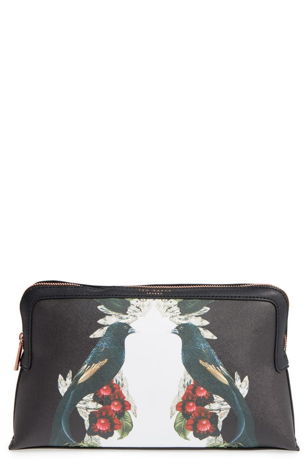 Alternate Image 1 Selected - Ted Baker London 'Elanno Shadows' Cosmetics Bag