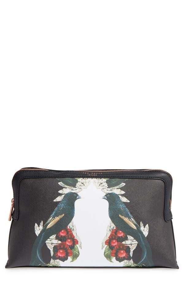 Main Image - Ted Baker London 'Elanno Shadows' Cosmetics Bag