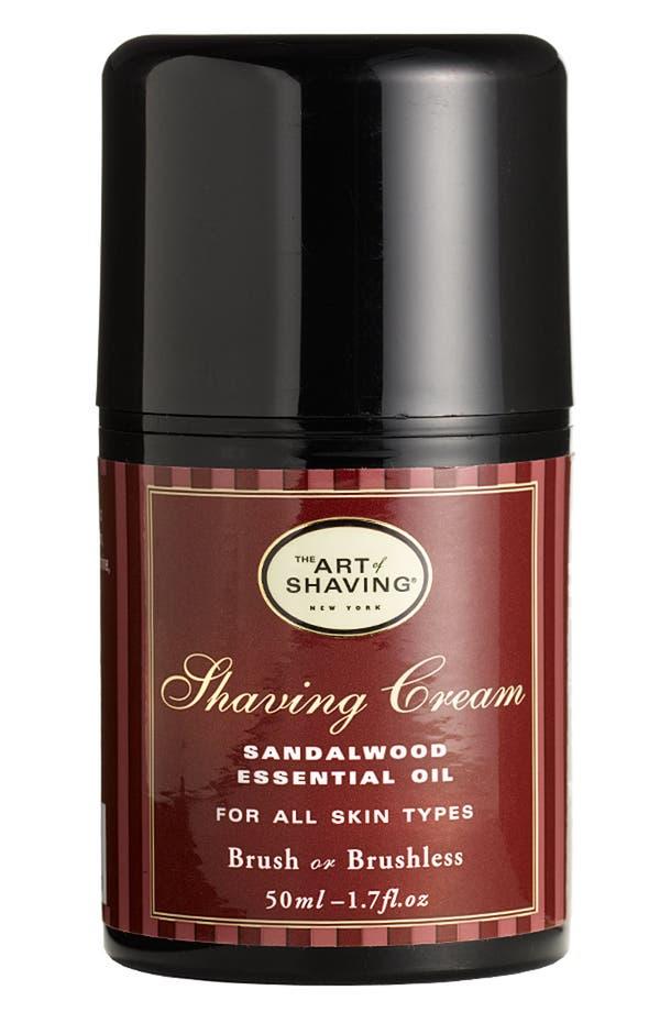 Main Image - The Art of Shaving® Pump Shaving Cream with Sandalwood Essential Oil