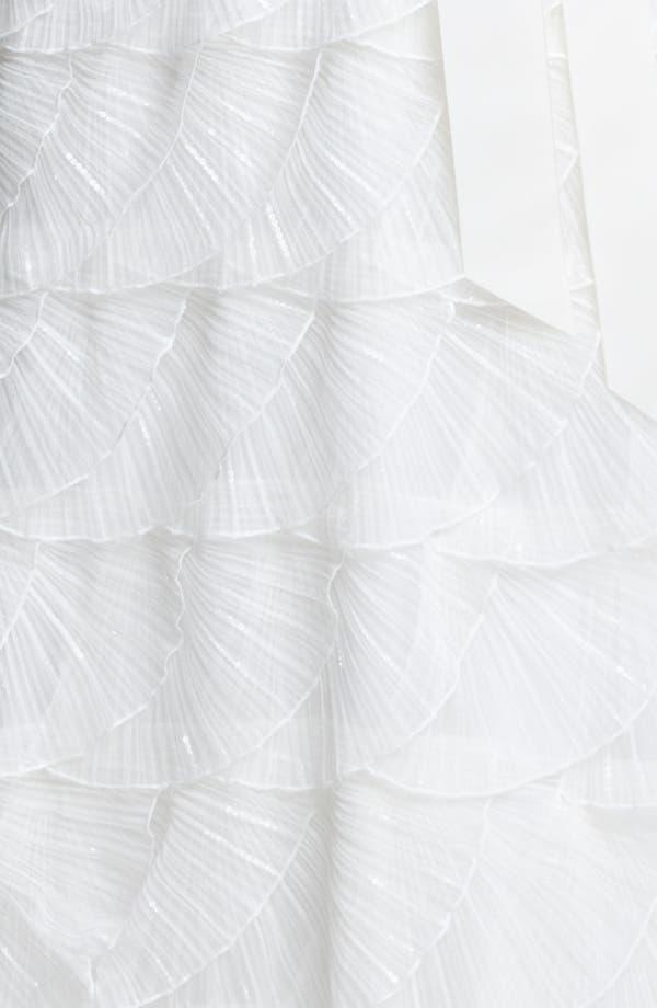 Alternate Image 5  - Tadashi Shoji Strapless Lace Gown