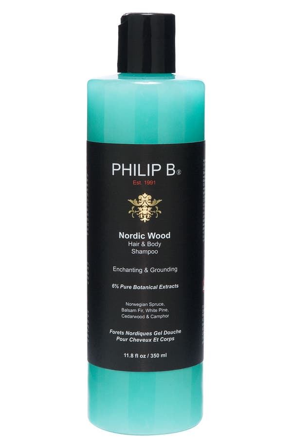 Alternate Image 1 Selected - SPACE.NK.apothecary PHILIP B® Nordic Wood Hair & Body Shampoo