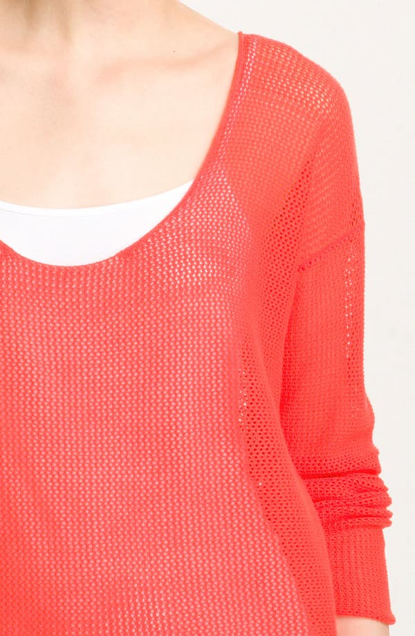 Alternate Image 3  - Soft Joie 'Nia' Sheer Oversized Mesh Top