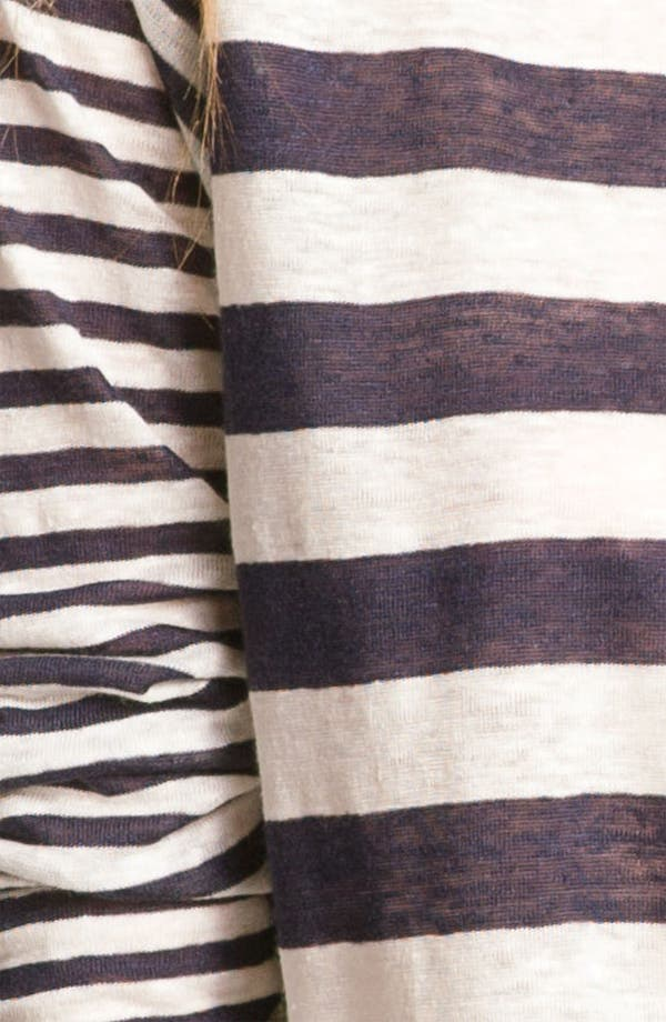 Alternate Image 3  - Joie 'Gloriosa' Sheer Stripe Raglan Top