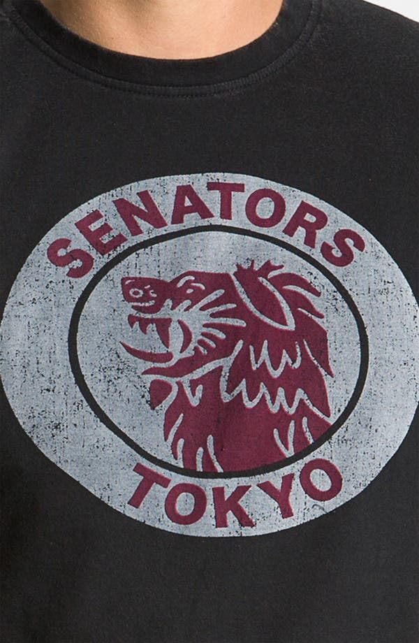 Alternate Image 3  - Red Jacket 'Tokyo Senators' Regular Fit Crewneck T-Shirt (Men)