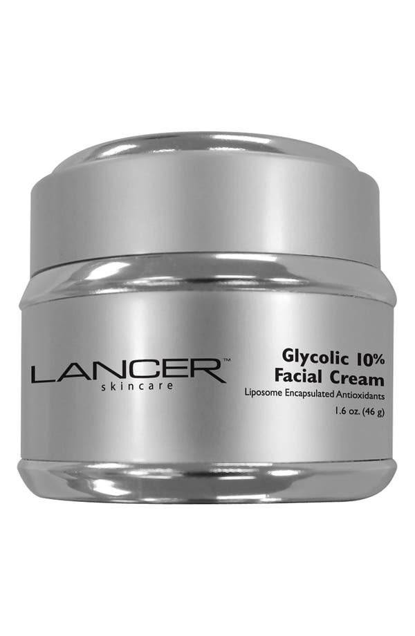 Main Image - LANCER Skincare Glycolic 10% Facial Cream (Nordstrom Exclusive)