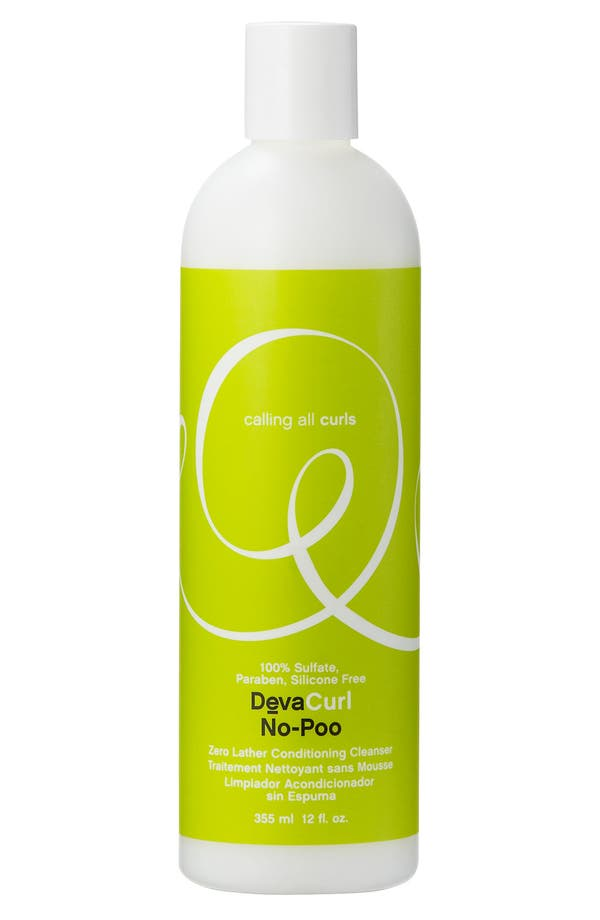 Alternate Image 1 Selected - DevaCurl 'No-Poo™ Zero Lather' Conditioning Cleanser