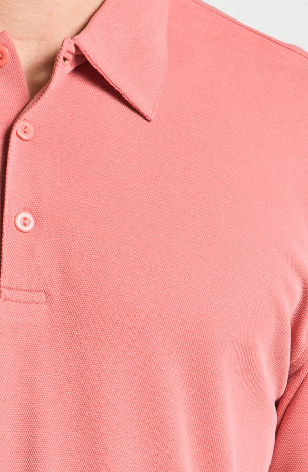 Alternate Image 3  - Burma Bibas Regular Fit Knit Polo