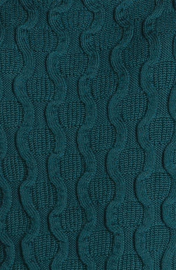 Alternate Image 3  - St John Yellow Label Textured Sleeveless Shell