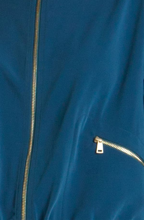 Alternate Image 4  - St. John Yellow Label Twill Motorcycle Jacket