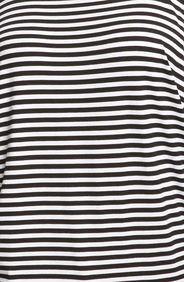 Alternate Image 3  - MICHAEL Michael Kors Stripe Cold Shoulder Top