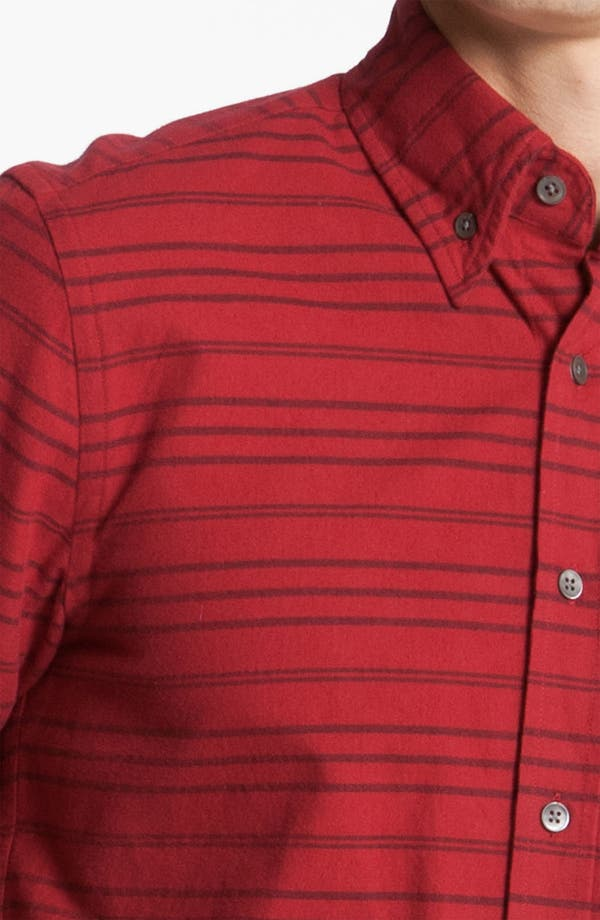 Alternate Image 3  - Steven Alan 'Collegiate' Stripe Woven Shirt