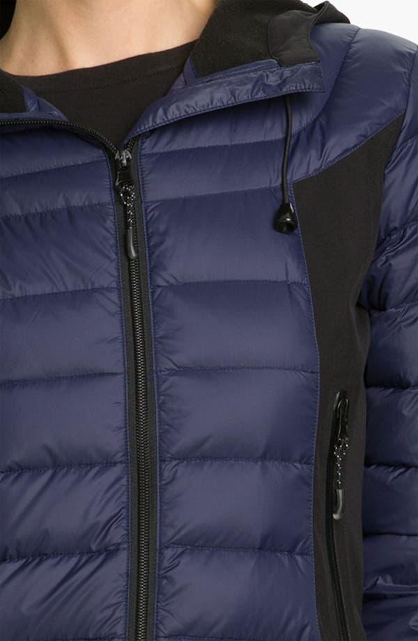 Alternate Image 3  - Bernardo Mixed Media Packable Down Jacket
