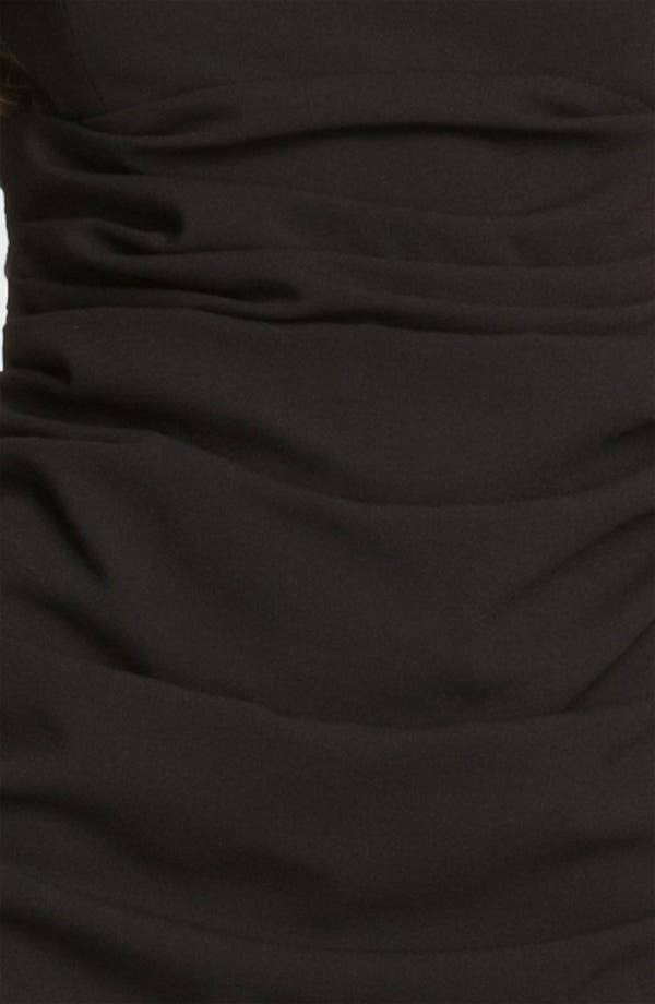 Alternate Image 3  - BCBGMAXAZRIA Lace Back Crepe Sheath Dress
