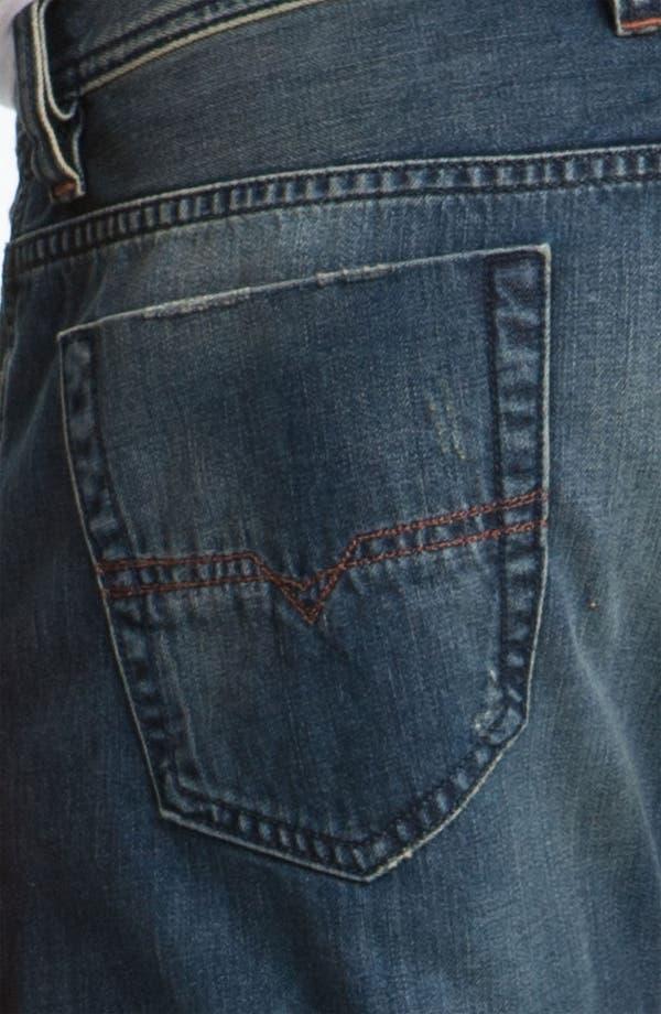 Alternate Image 4  - DIESEL® 'Viker' Straight Leg Jeans (0803F)