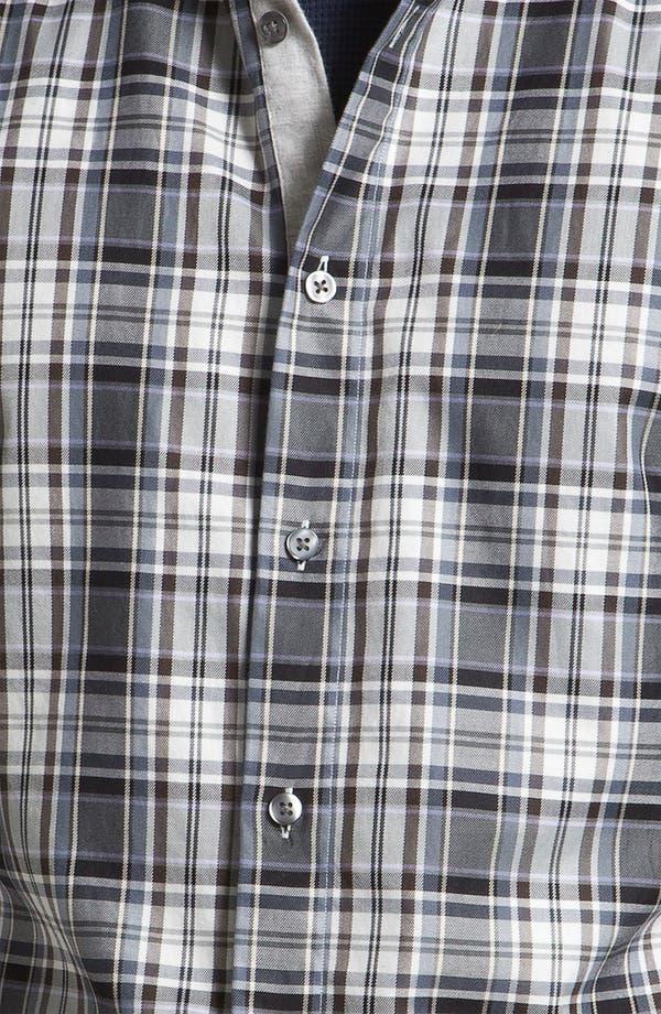 Alternate Image 3  - Hickey Freeman Plaid Sport Shirt