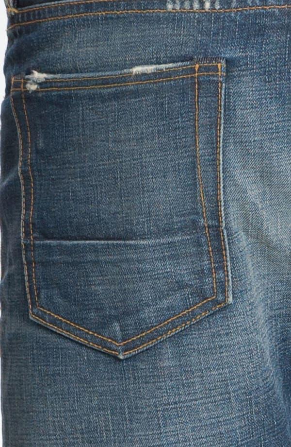 Alternate Image 4  - NSF Clothing Straight Leg Jeans (Reno)